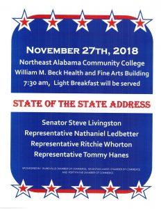 State of the State Address @ Northeast Alabama Community College